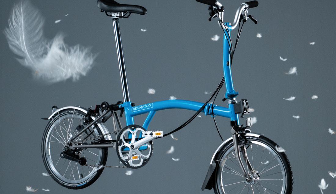 Superlight folding bike